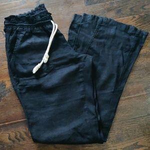 Roxy Oceanside Black Beach Pants